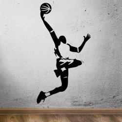 Vinilo baloncesto pared